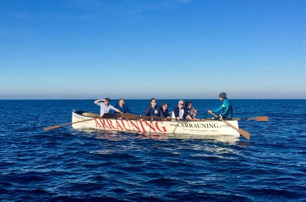 Rowing on the Bay